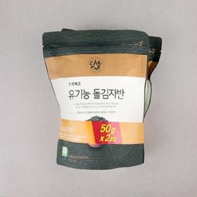 [기획]유기농돌김자반(50g×2)