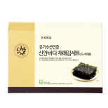 유기수산인증재래김세트(도시락용/4.5g×48봉)