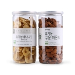 [기획]유기농구운아몬드+바나나슬라이스칩(715g)