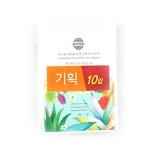 [기획]유기농히아루론산순면마스크팩(25g×10입)