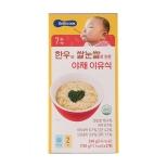 한우와쌀눈쌀로만든야채이유식(120g×2개)