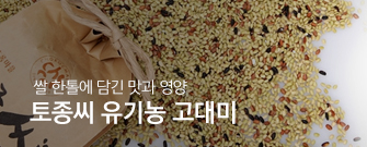 토종씨유기농고대미
