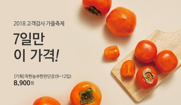 [기획]착한농부한판단감(9~12입)