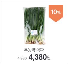 무농약이상_쪽파(500g)