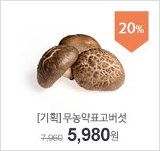 [기획]무농약표고버섯