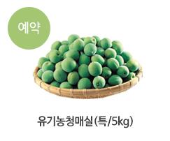 유기농청매실(특/5kg)