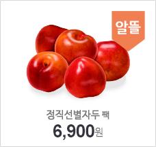 정직선별자두(팩)