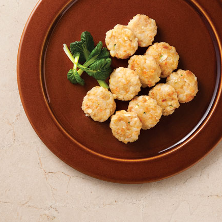 현미밥감자전