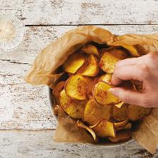 고구마칩과 커민솔트