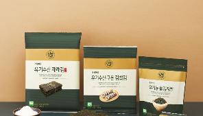 바삭하고 고소한 초록마을 유기수산 김 관련 이미지